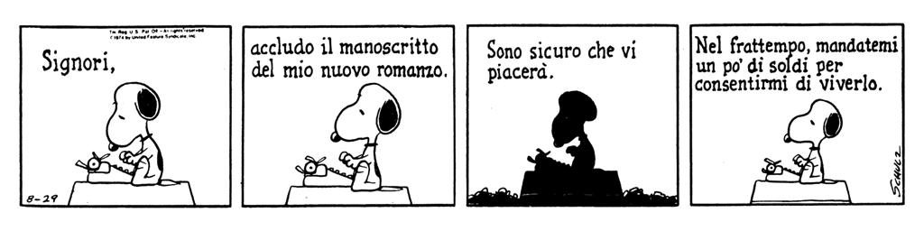 Peanuts - scrittori case editrici