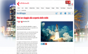 Vinci viaggio Feltrinelli