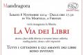 La via dei libri a Firenze