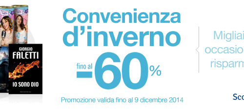 Convenienza d'inverno – Sconto Mondadori