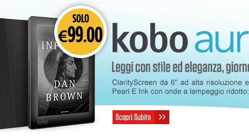 Promozioni eBook reader – Kobo Aura