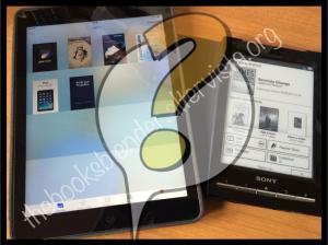 eBookreader o tablet