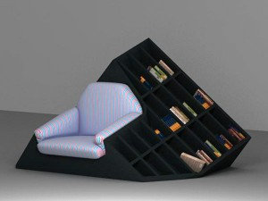 libreria strana armchair