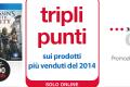 Triplica i punti con la Mondadori Card