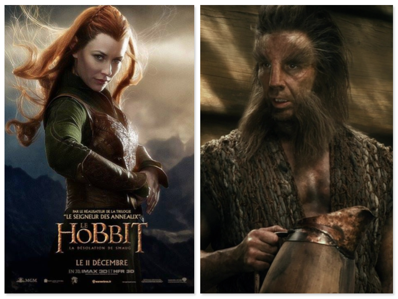 lo hobbit - tauriel e beorn