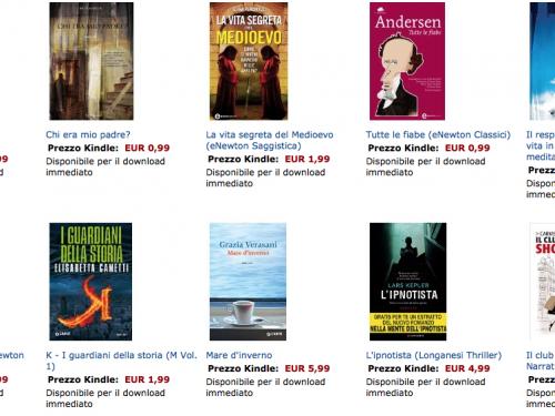 eBook Amazon: offerte del mese
