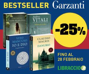 Bestseller Garzanti in sconto