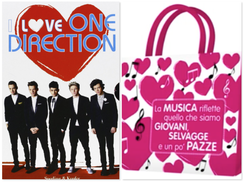 i love one direction - offerta spelling & kupfer
