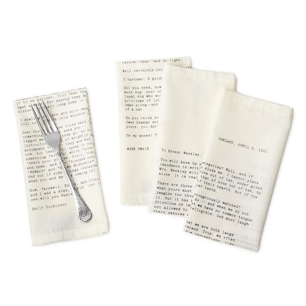 gadget lettori - tovaglioli