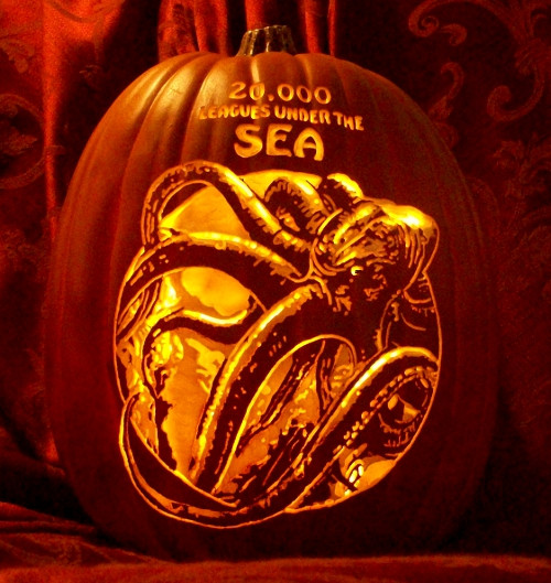 zucche di halloween 20000 leghe sotto i mari
