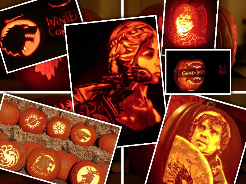zucche di halloween il trono di spade
