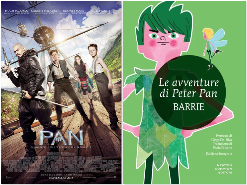 In libreria e al cinema - Novembre 2015 - peter pan