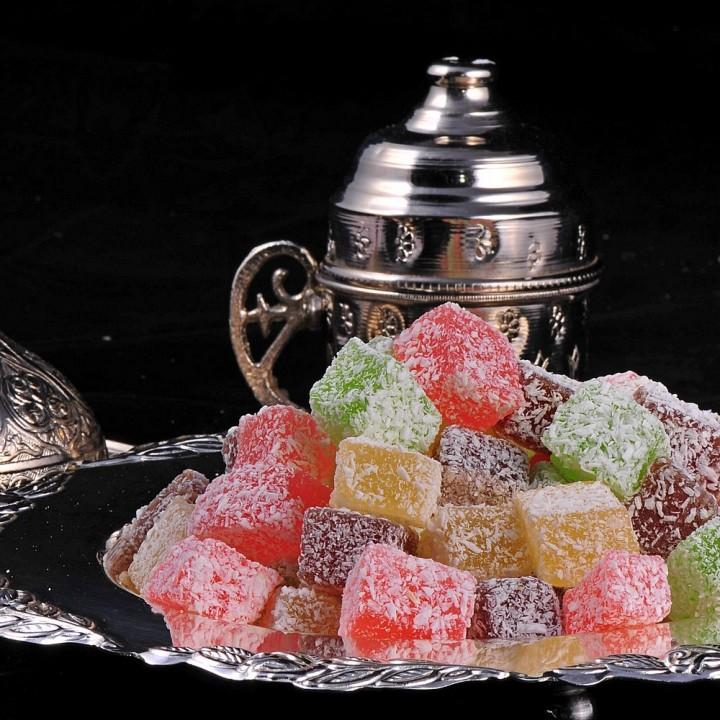 dolci e dessert ispirati ai libri - delizie turche
