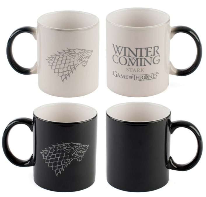 tazza winter is coming