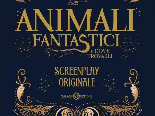 Animali fantastici e dove trovarli, lo screenplay originale a breve in Italia