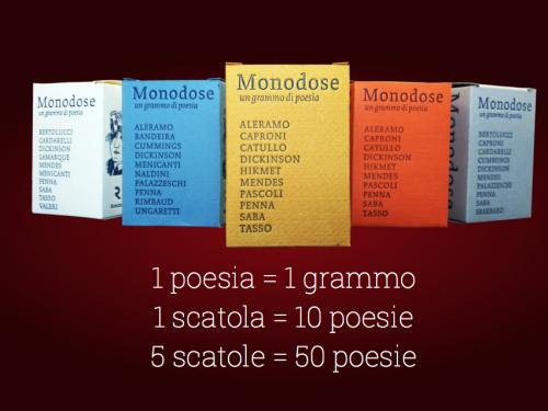 Monodose. Un grammo di poesia