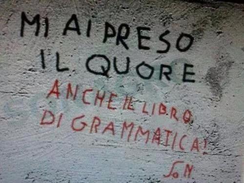 E così l'italiano è scomparso…