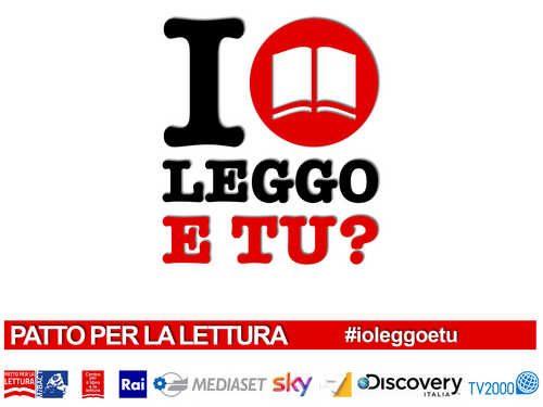 """Campagna progresso: la pubblicità di """"Io leggo e tu?"""""""