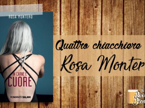 Quattro chiacchiere con Rosa Montero