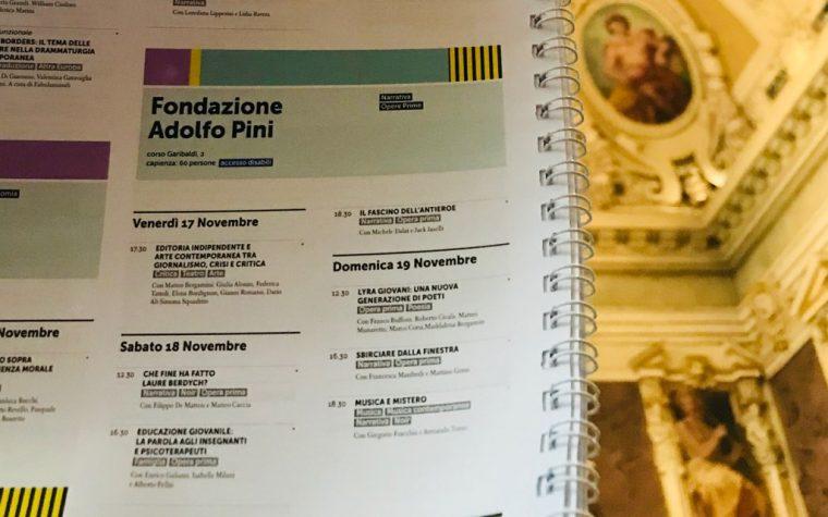 Alla Fondazione Adolfo Pini sette appuntamenti per giovani autori