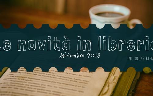 Novità Libri Novembre 2018