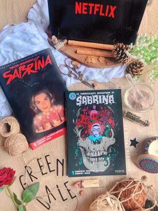 le terrifcanti avventure di sabrina graphic novel