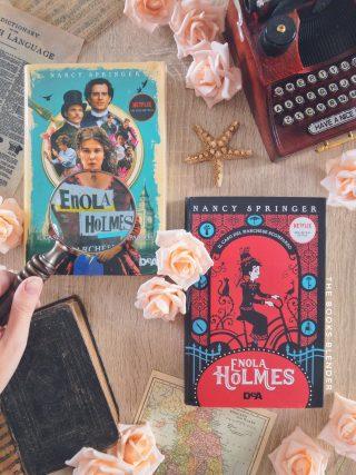 enola holmes libro
